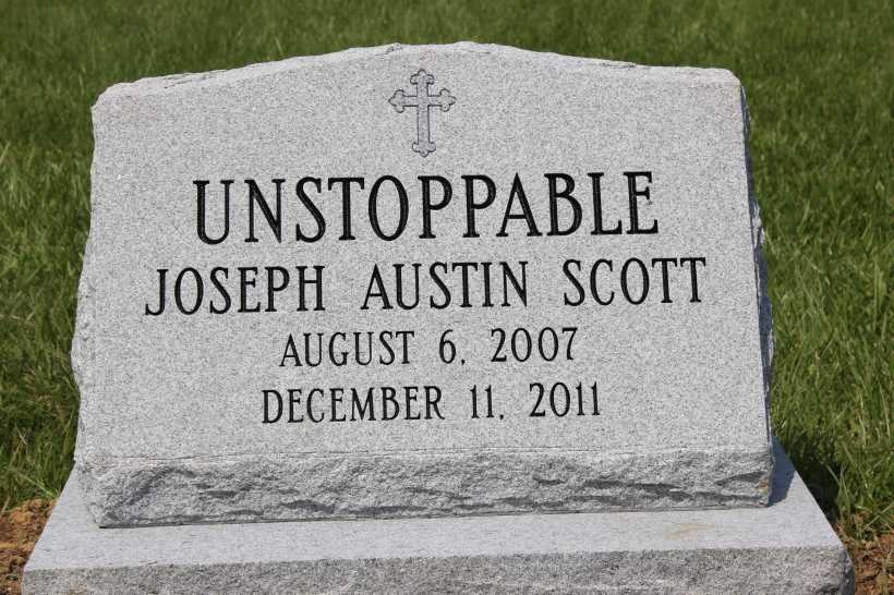 Unstoppable tombstone